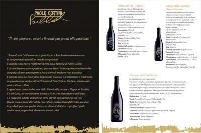 Дизайн на брошури Osteria Veneta