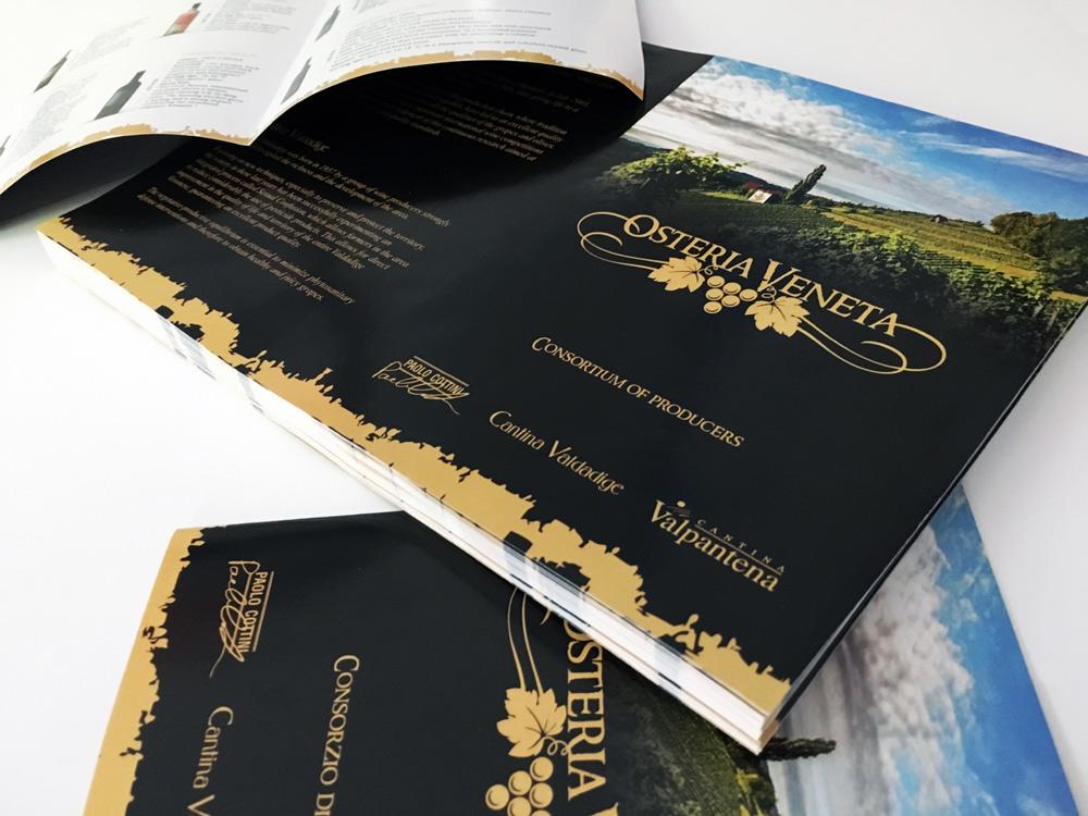 Графичен дизайн, лого дизайн Osteria Veneta