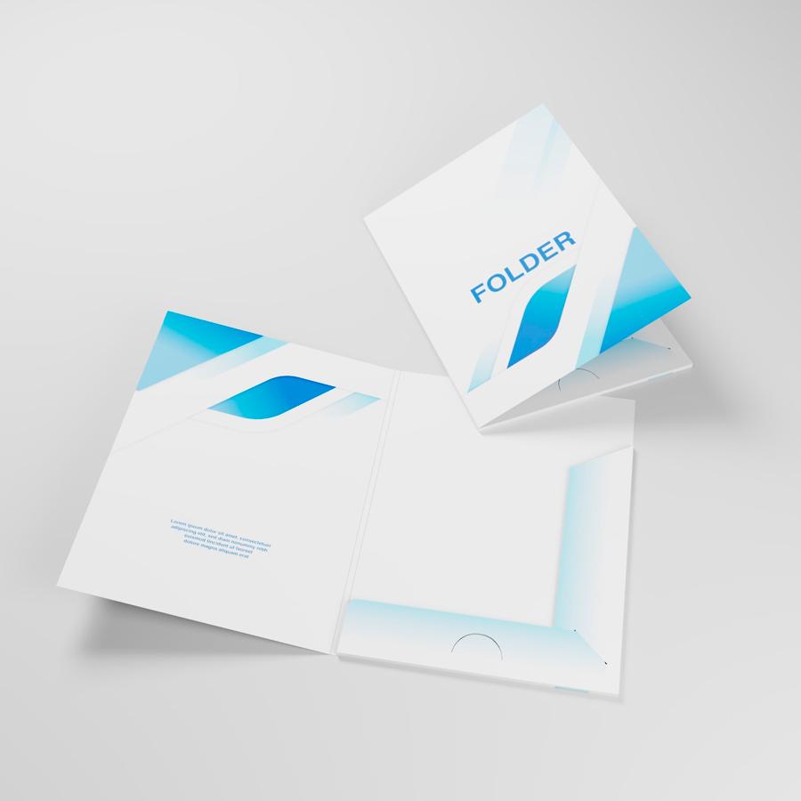 Печат на папки
